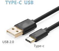 Hi-speed Micro USB 3.1 Type C mâle vers USB 3.0 mâle 1 m 3FT câble de données pour téléphone Android N1 MQ100