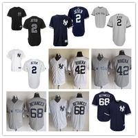 Men' s New York Yankees #2 Derek Jeter 42 Mariano Rivera...