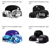 Newest Design Snapback Hats Cap Cayler & Sons Snapbacks Snap...