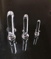 Nail Verre Tuyau d'eau en verre Bong Dome Nail Oil Rig Nail Dab 10mm, 14.4mm et 18.8mm Nail verre Dome