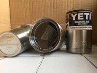 YETI Чашки Cooler 304 из нержавеющей стали YETI Рамблер Тумблерные Кубок Автомобиль Автомобиль пивными кружками с вакуумной изоляцией Refly 12oz 20oz 30oz