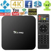 TX3 PRO Android 6. 0 Amlogic S905X 4K H. 265 TV BOX Kodi 16. 1 ...