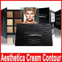 Aesthetica Cosmetics Cream Contour and Highlighting Makeup K...