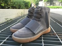 Drop Shipping with box Final Version Boost 750 Light Grey Gu...