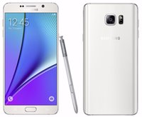 Unlocked Samsung Galaxy Note 5 / N920F Octa base 32GB ROM LTE 16MP 5,7 pouces SmartPhone Dual-band WiFi, NFC