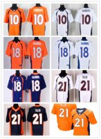 soccer football jersey Broncos rugby jerseys SANDERS 10 MANN...