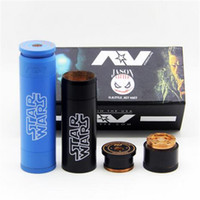 style AV Mod Star Wars Capable de cigarette électronique Mech Clone adapter 18650 Batterie AV mécanique Mod DHL libre