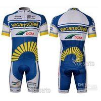 summer Discount Vacansoleil Team Cycling Jersey Outdoor Spor...