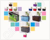 Женщины Организатор Сумка дорожная сумка складная Получить пакет Девочка Дамы Корзина макияж Косметические сумка 14 цветов OOA125