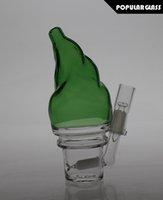 15cm Verre haut Diffusion plates-formes pétrolières Bain de verre à la glace Pompe à eau en verre Joint de taille 14.4mm SL15036