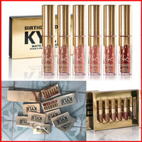In stock!!min Kylie Jenner Lipkit Lord Metal Gold the Limite...