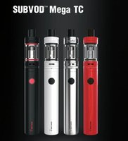 Kangertech subvod Mega TC starter Kit 2300mAh Bat Trie 4.0ml vs ego aio kit batterie