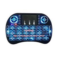 Rii i8+ English Backlight Mini Wireless Keyboard 2. 4GHz Touc...