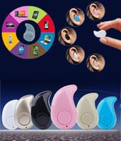 Mini Furtif sans fil Bluetooth 4.0 casque Sport Courir S530 pour iPhone Android i6s écouteurs Casque stéréo de casque de musique de Samsung