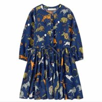 2016 Autumn Special Zoo Animal Lion Tiger Dresses Children A...