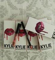 1set=2pcs! HOT Kylie Lip Kit by kylie jenner Velvetine Liqui...