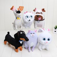 The Secret Life of Pets Dog Plush Toys Soft Stuffed Animal D...