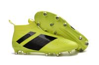2016 Cheap Ace 16+ purecontrol FG Kids Boys soccer Shoes Pur...
