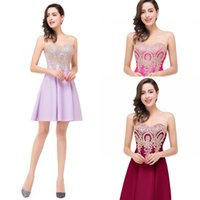 Sob $ 50 Cheap Sparkly Short Mini Sweet 16 Sequins Homecoming Vestidos 2016 Sheer Jewel Neck Backless Zipper Real Photo Cocktail Party Vestidos