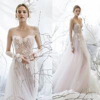Mira Zwillinger 2017 Garden Wedding Dresses Sweetheart 3D Fl...