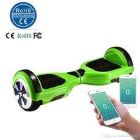 6,5 pouces Smart Balance Wheel Hoverboard électrique Skateboard Monocycle Drift Auto équilibrage Scooter debout APP Control