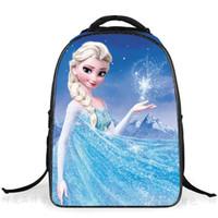 Sacs scolaires Enfants Frozen Sacs à dos Mode princesse Elsa Anna Snow Queen Enfants Double Sacs de Noël Top cadeaux de qualité
