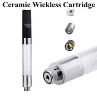 Ceramic Wickless CE3 Cartridge 510 Tread CBD Atomizer Vapori...