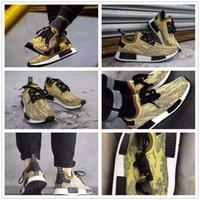Original NMD Runner Primeknit S42131 Gold Camo Sneaker Men&#...