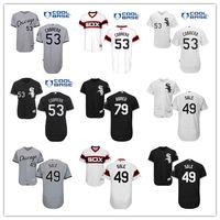 Men' s Elite Chicago White Sox 53 Melky Cabrera #49 Chri...