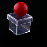 100pcs New Amazing Funny Clear Ball Through Box Illusion Mag...