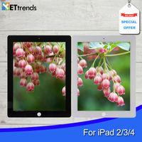 Qualité AAA Digitizer Assemblée pour iPad 2/3/4 Touch verre Digitizer Assemblée avec bouton Home 3M Adhensive Livraison gratuite par DHL