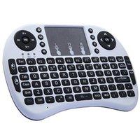 Rii Mini i8 teclado inalámbrico ratón USB Cable Portable Touch Fly aire ratón batería cargable para TV BOX Android