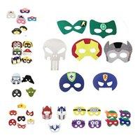 2016 Superhero Halloween Cosplay Masks Kids Girls Boys Costu...