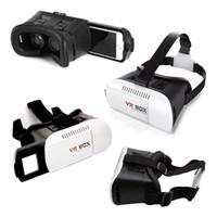 3D очки VR BOX Профессиональный Google Andriod Картон поляризованные Виртуальная реальность для монтажа в головку Смарт Дело телефон Bluetooth контроллер геймпад