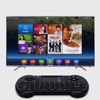 Мини беспроводная клавиатура 2,4 ГГц Английский мышь воздуха клавиатуры дистанционного управления Сенсорная панель для Android TV Box ноутбуков Tablet PC