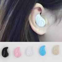 Écouteurs stéréo stéréo bluetooth V4.0 de l'écouteur Bluetooth S530 de DHL mini pour l'iphone 6s samsung s7 ipad avec la boîte de détail