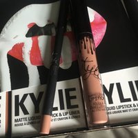2016 hot selling NEW Kylie Lip Kit by kylie jenner Velvetine...