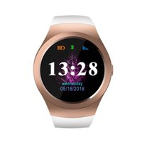 KS2 Bluetooth 4.0 montre Smart Watch Phone MTK2502C Soutien SIM TF carte GSM Siri Smartwatch 1.3 pouces IPS écran rond Fitness Tracker