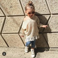 INS hot style  new 2016 autumn natural children' s sweat...