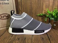 2016 New High Quality City Sock NMD Primeknit Fashion Grey W...