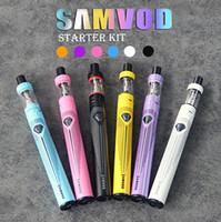 100% Cigarettes d'origine Samvod Kit électronique Vaporisateur Kits 1600mAh Battery Sub Ohm SAMVOD réservoir atomiseur Soutien NI TI EGO-ONE Coil