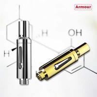 Original Smiss Armour Oil CBD Cartouches atomiseur Valve Air réglable 0.5ml CE3 or O Pen 1.5ohm 510 Vaporisateur Cuivre Verre borosilicate