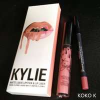 Kylie Lipgloss KIT Kylie Matte Liquid Lipstick Maquillage Lip Gloss couleurs facultatives DHL Free
