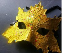 2016 Hot style powders The maple leaves mask mask Christmas ...