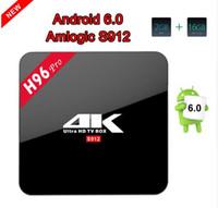 Lastest H96 PRO Android 6. 0 TV Box Amlogic S912 Octa core AR...