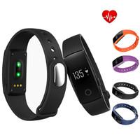 ID107 Bluetooth Smartband Heart Rate Monitor Wristband Fitne...