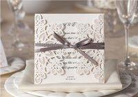 2016 Новый стиль цвета слоновой кости полые свадебные приглашения карты канцелярские товары Свадебные приглашения
