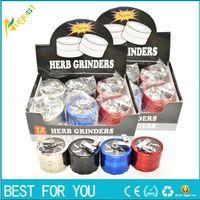 New 4- layer zinc Hand Crank grinderl Herb Tobacco Grinder Sm...
