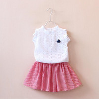 Hot Sale 2016 summer new children' s clothing girls open...