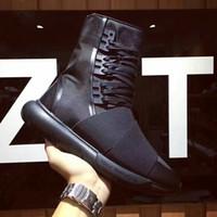 2016 New Y3 Mens Womens Classic Sneaker Y3 QASA Sneaker Boot...